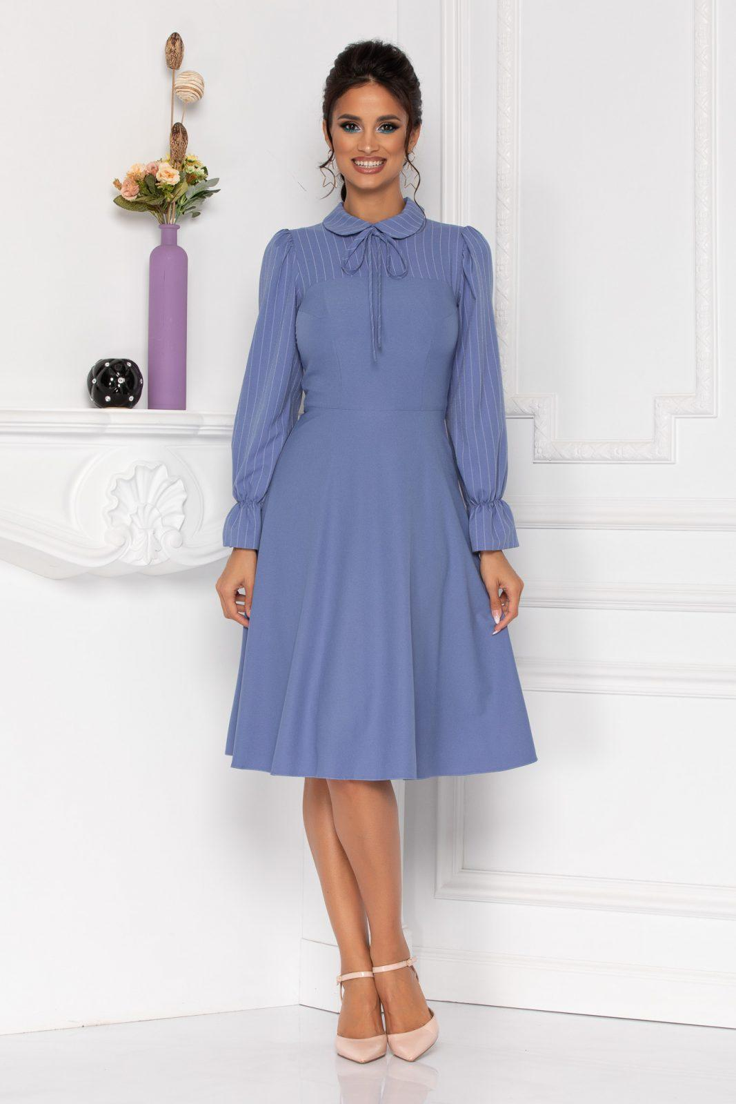 Moze Helga Blue Dress