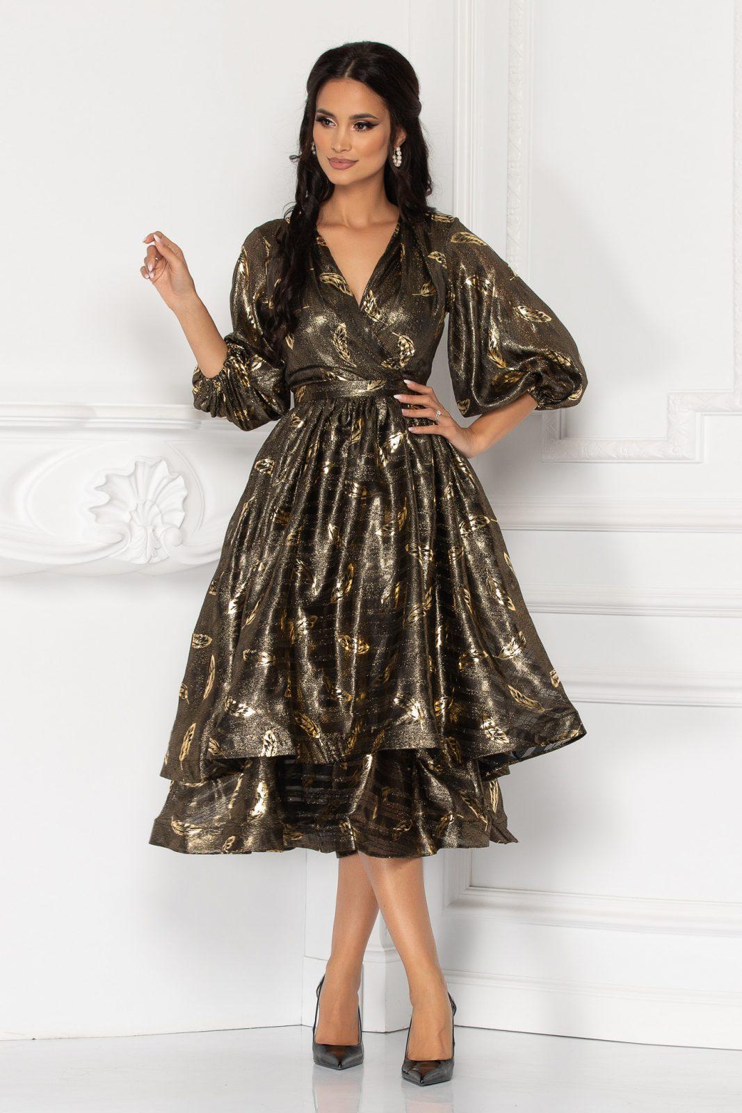 Μίντι Βραδινό Φόρεμα Romelia 8166 1