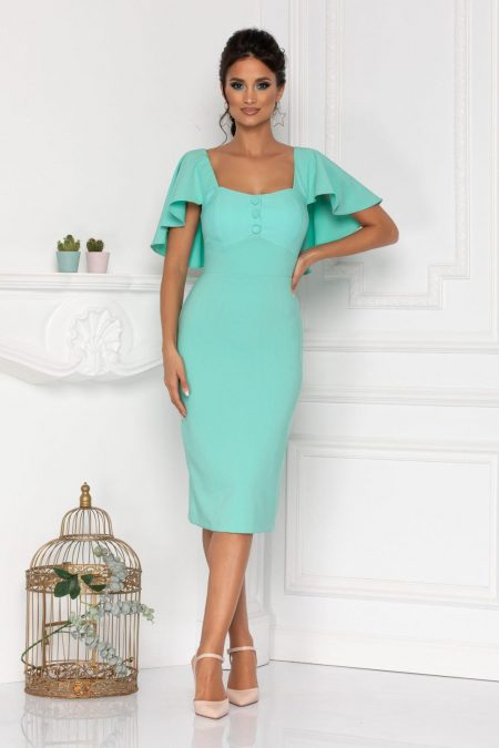 Gladys Mint Dress