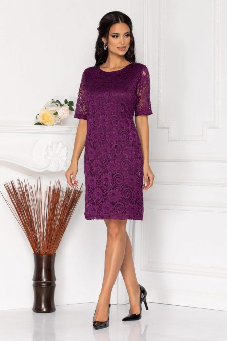 Glancy Violet Dress