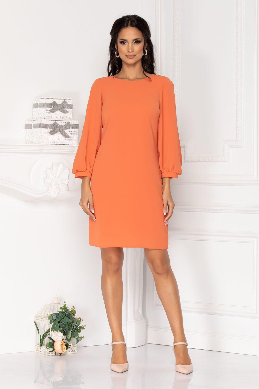 Moze Elora Orange Dress