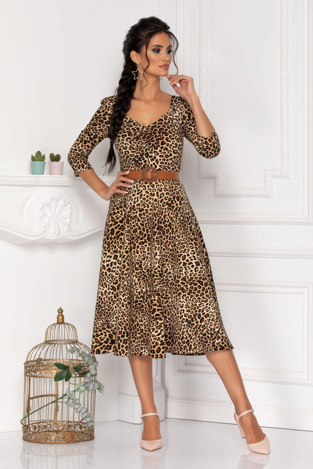 Hariett Caramel Dress