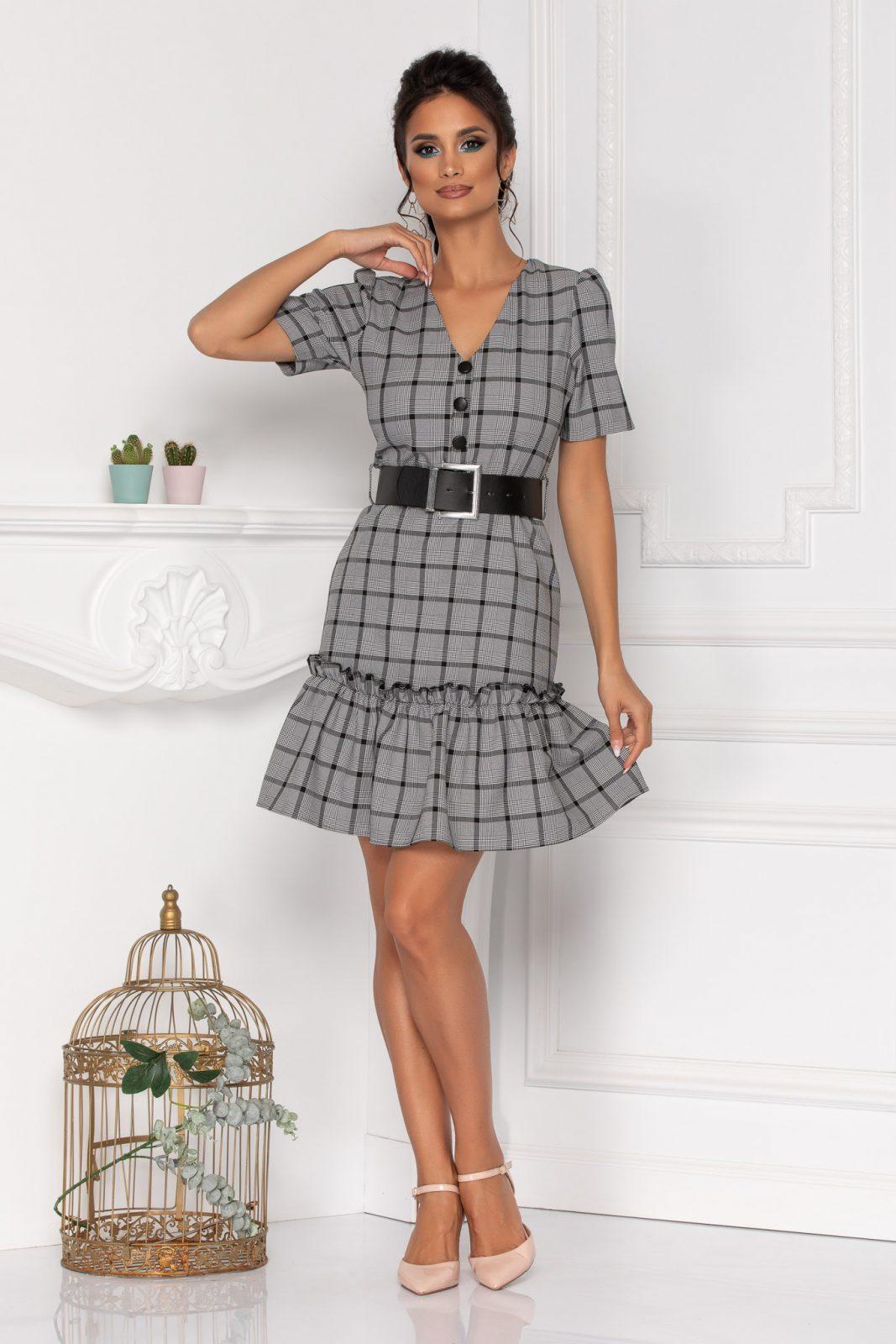 Alexis Gray Dress