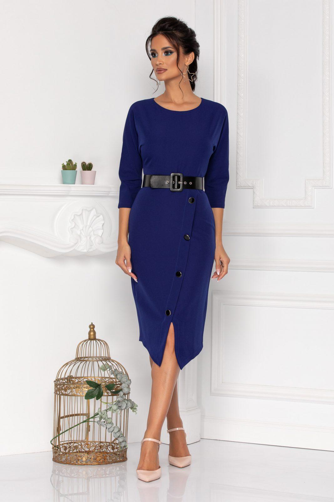 Audrey Royal Blue Dress