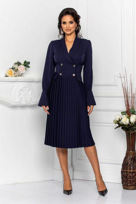 Margott Navy Dress