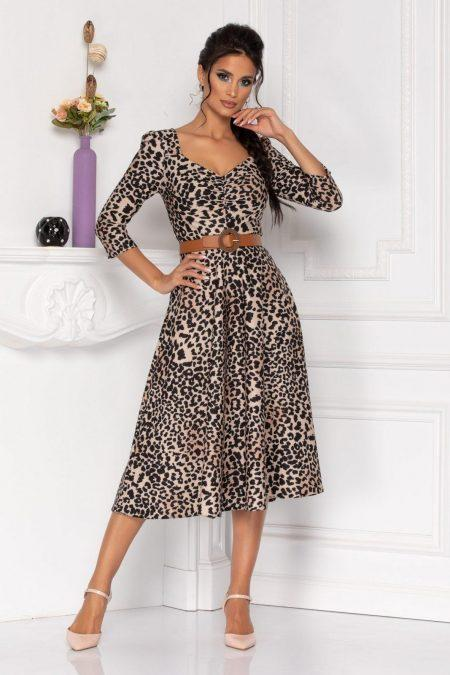 Hariett Animal Print Dress