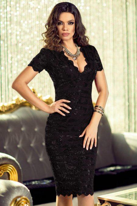 Vivianne Black Dress