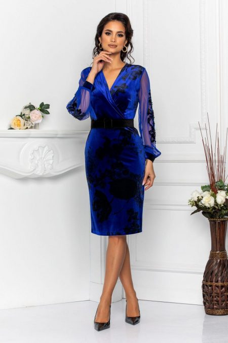 Fleur Royal Blue Dress