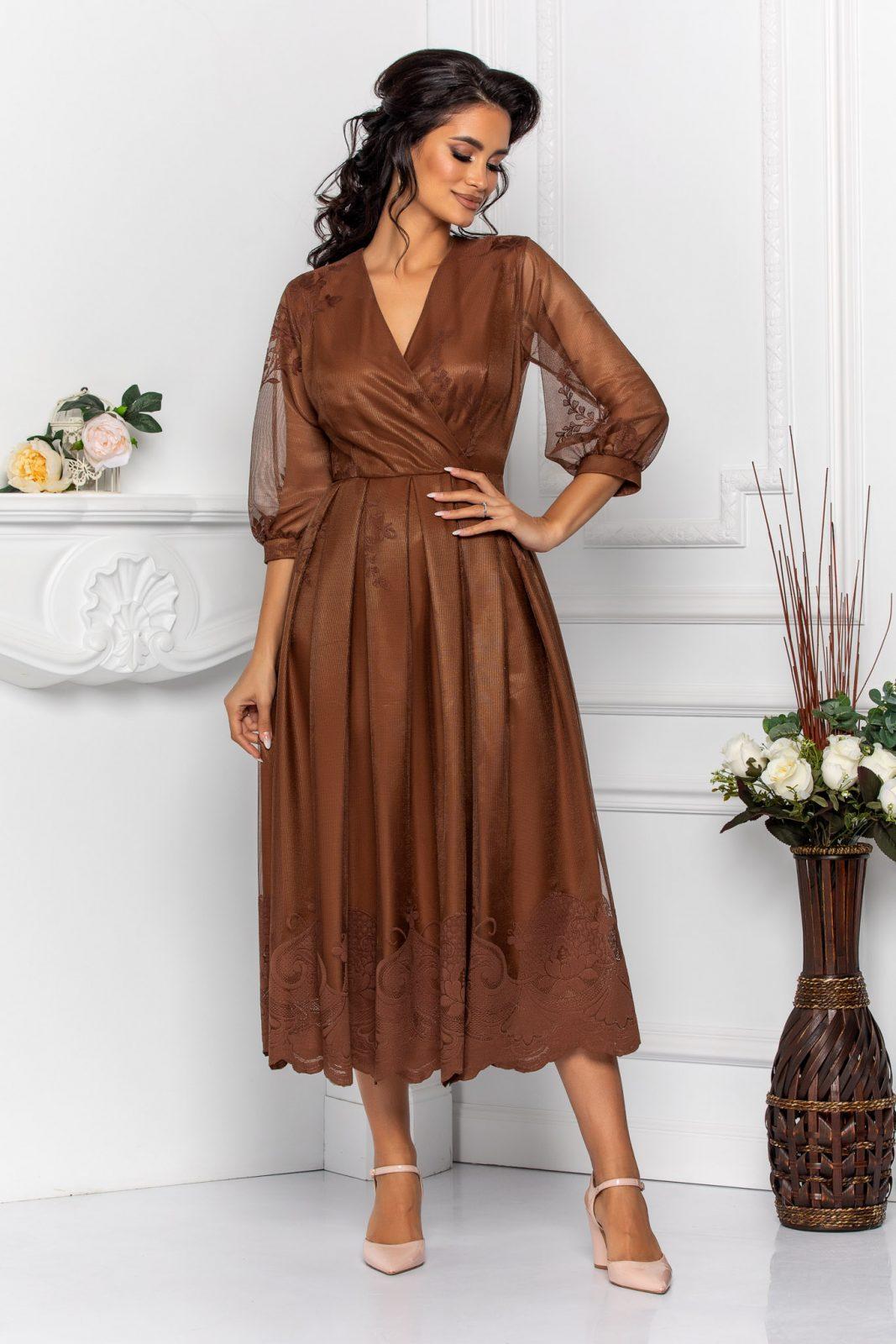 Cybill Brown Dress
