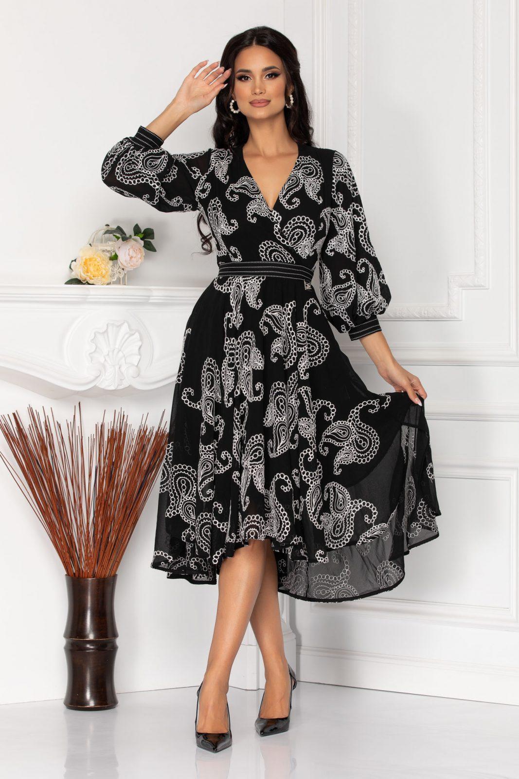 Rubya Black Dress