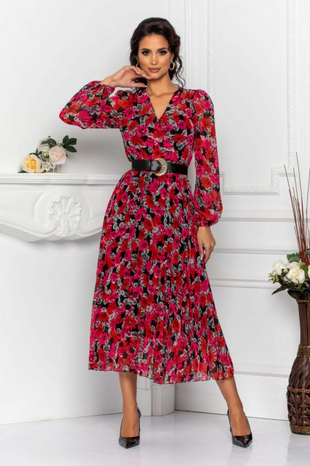 Malina Ciclam Dress