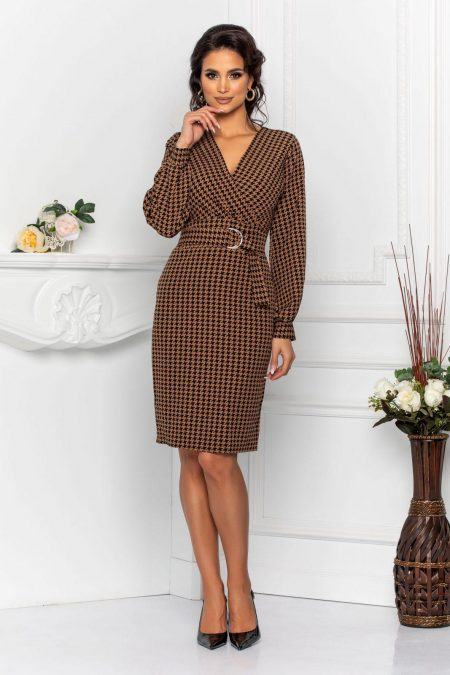 Irisa Brown Dress