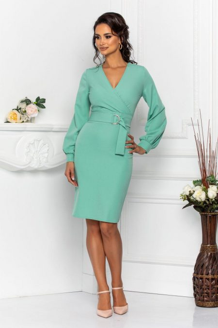 Lucille Mint Dress