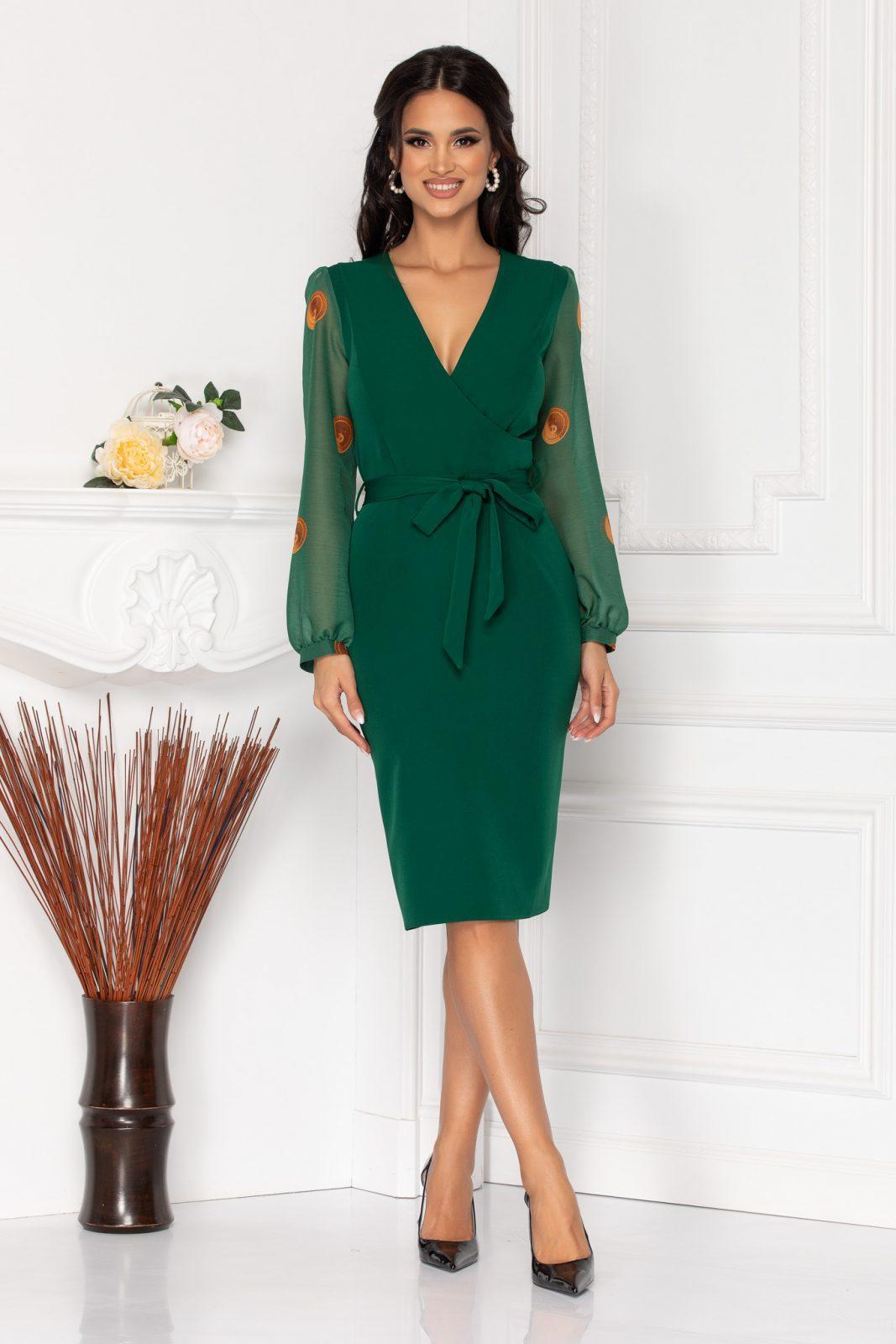 Wanda Green Dress