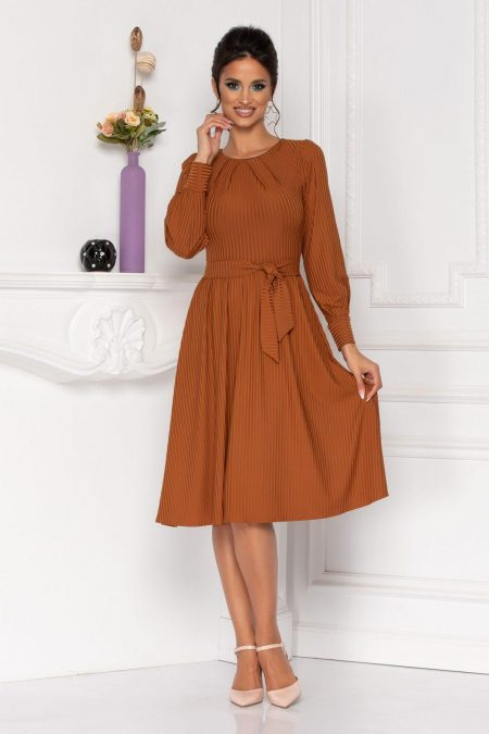Moze Eden Brown Dress