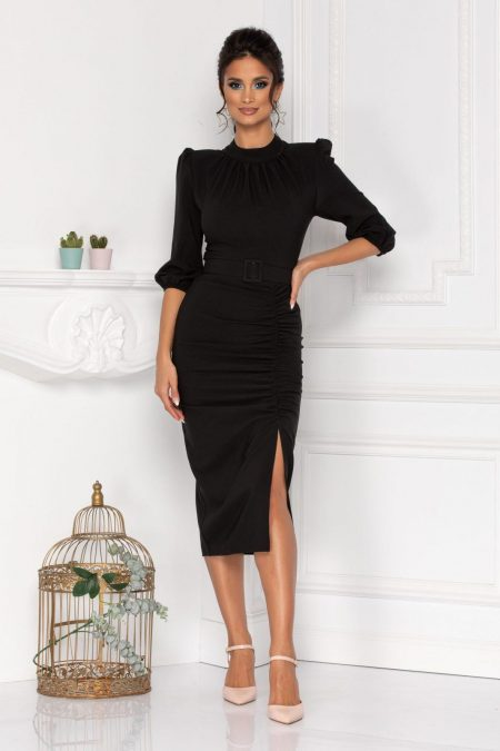 Fiorella Black Dress