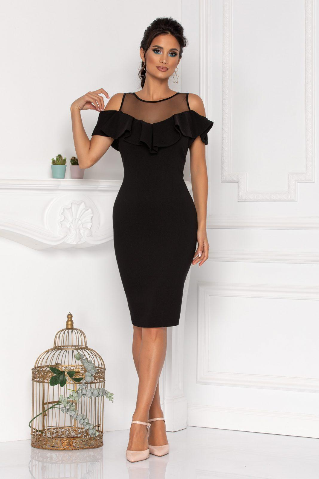 Brissa Black Dress