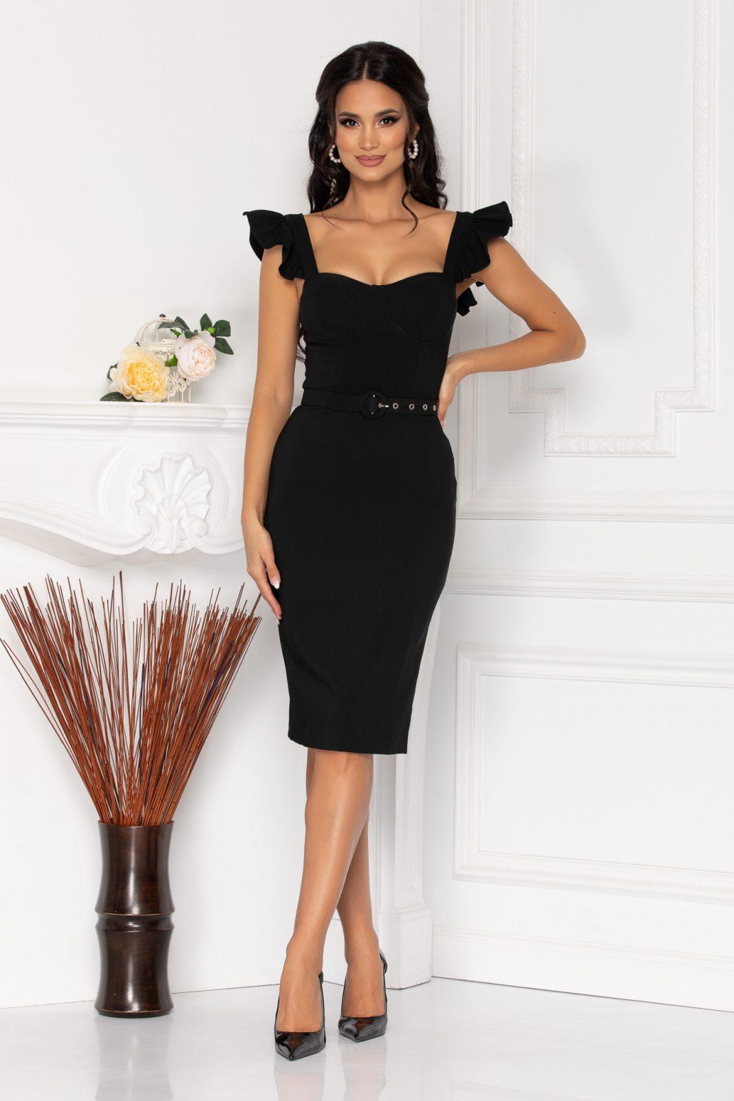 Beatrix Black Dress