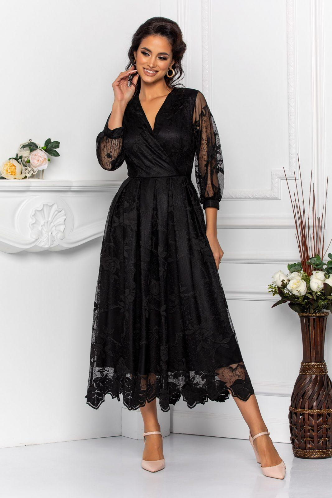 Cybill Black Dress