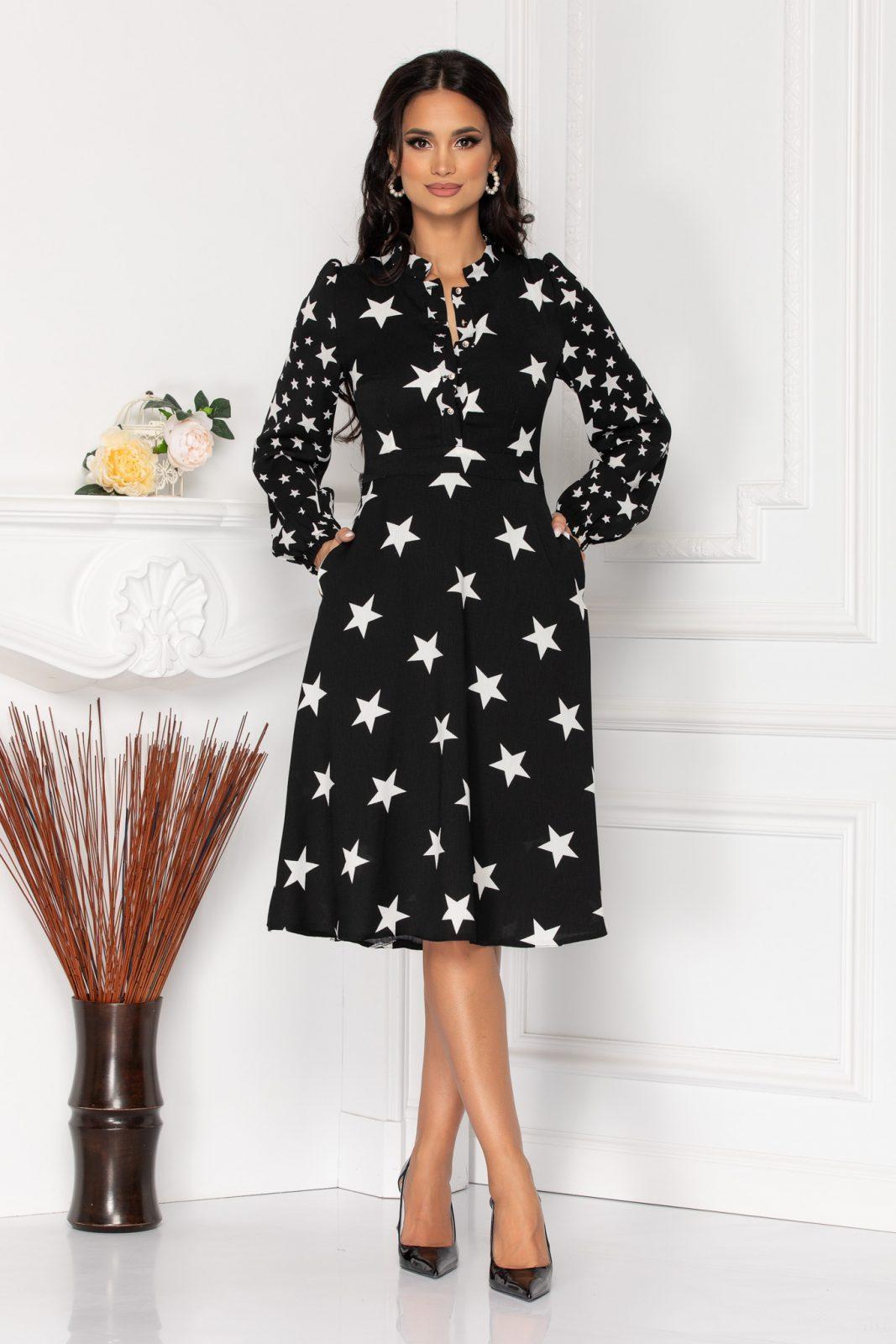 Moze Layla Black Dress