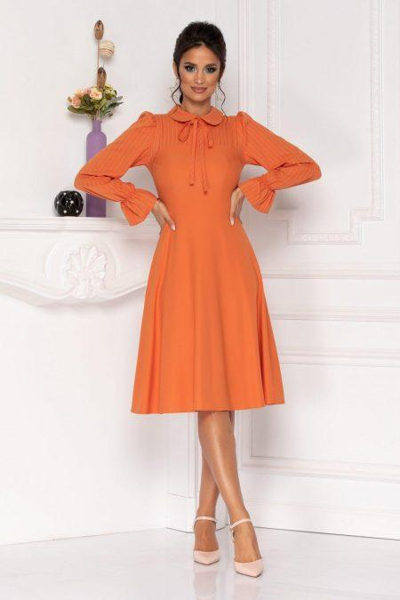 Moze Helga Orange Dress