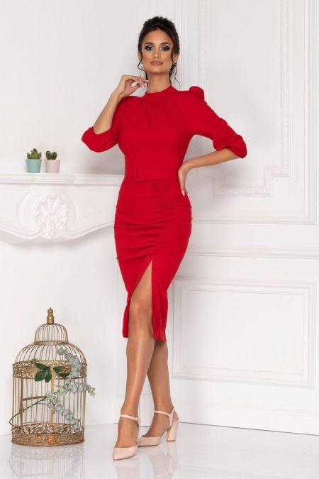 Fiorella Red Dress