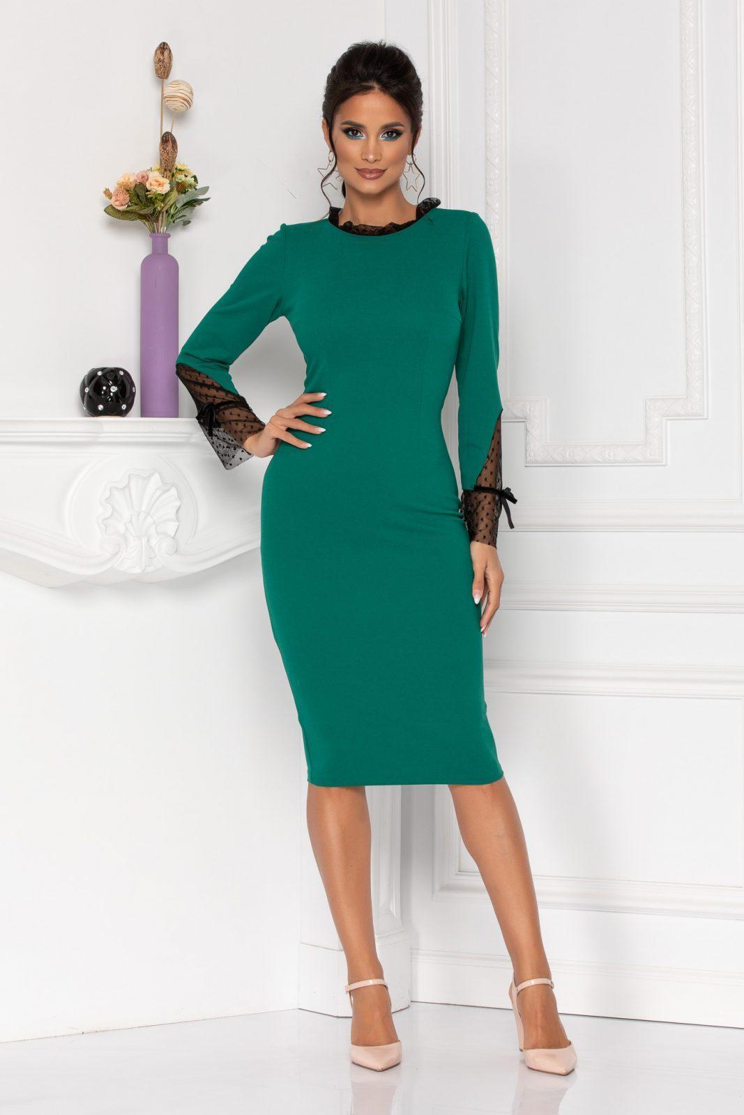 Moze Dalia Green Dress