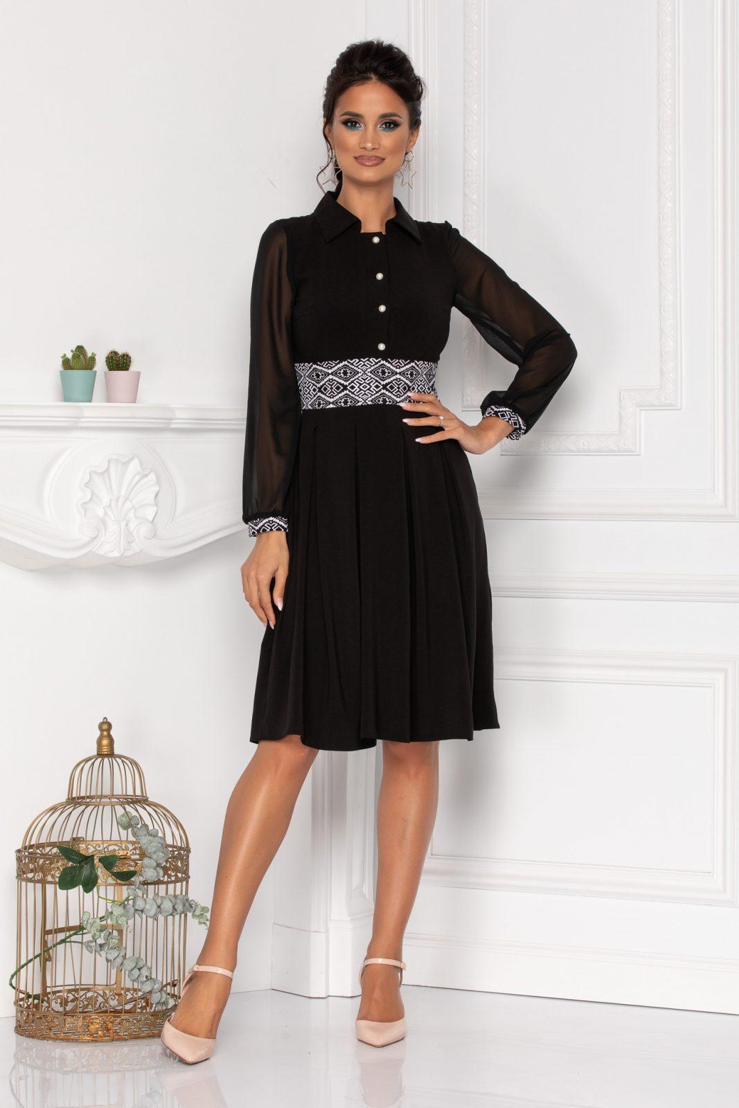 Moze Carlisa Black Dress