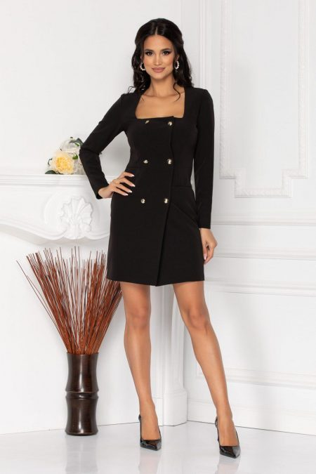 Moze Penny Black Dress