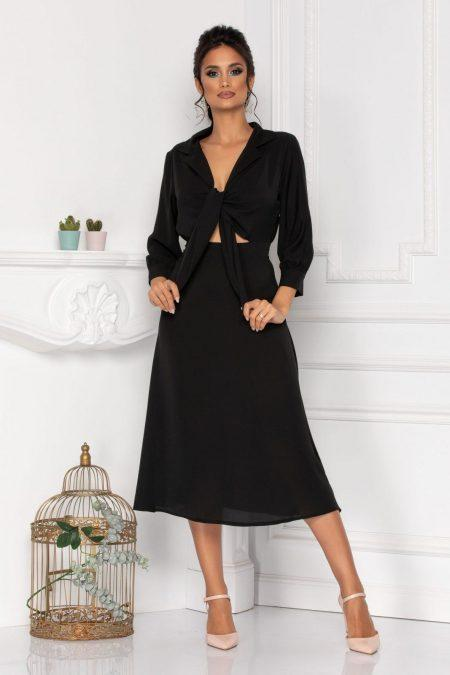 Kalina Black Dress