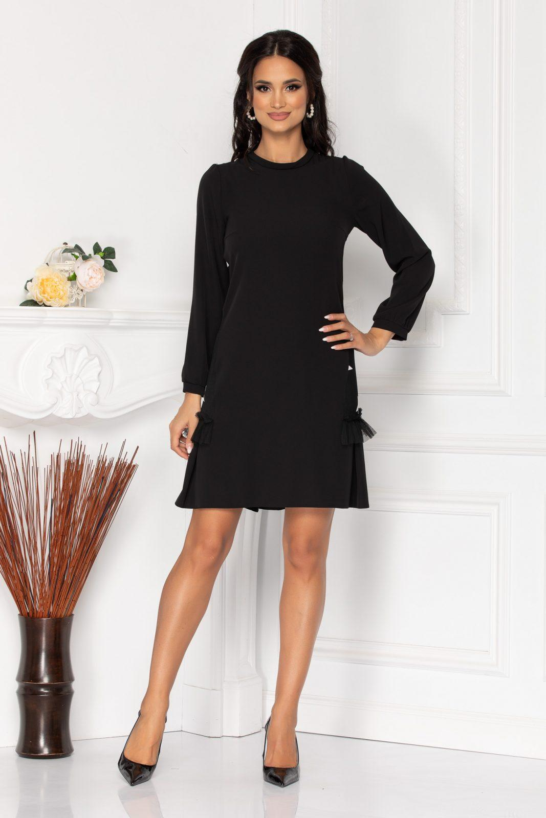 Moze Roberta Black Dress