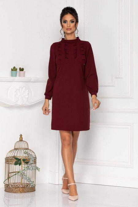 Moze Rochelle Burgundy Dress