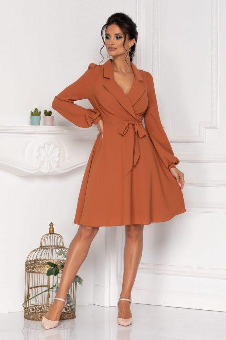 Nadyne Caramel Dress