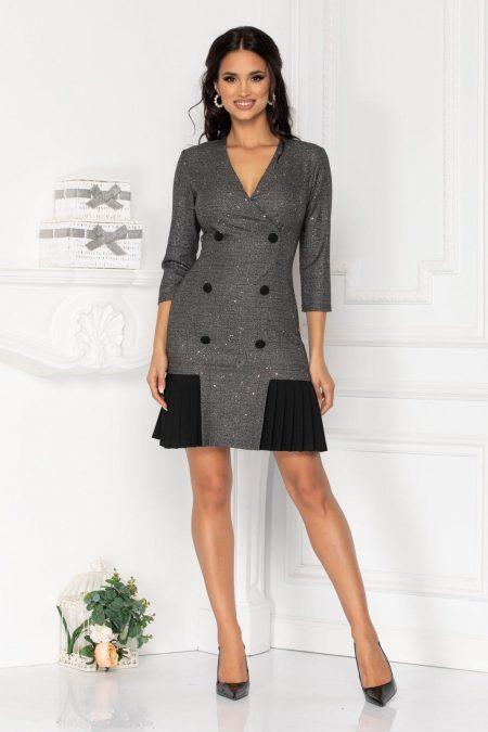 Nola Dark Gray Dress