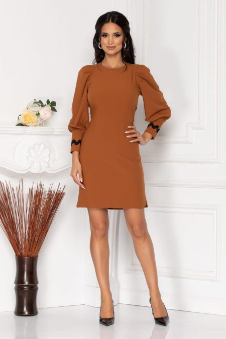 Moze Harper Brown Dress