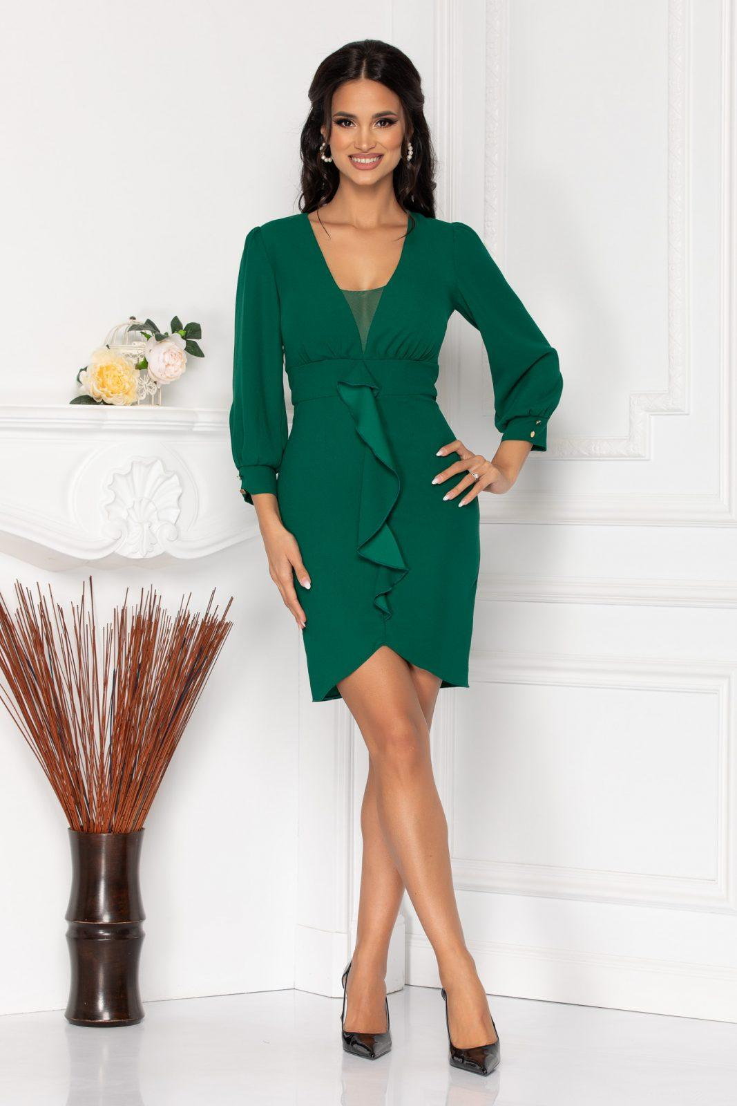 Moze Orlanda Green Dress