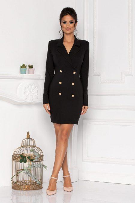 Klara Black Dress