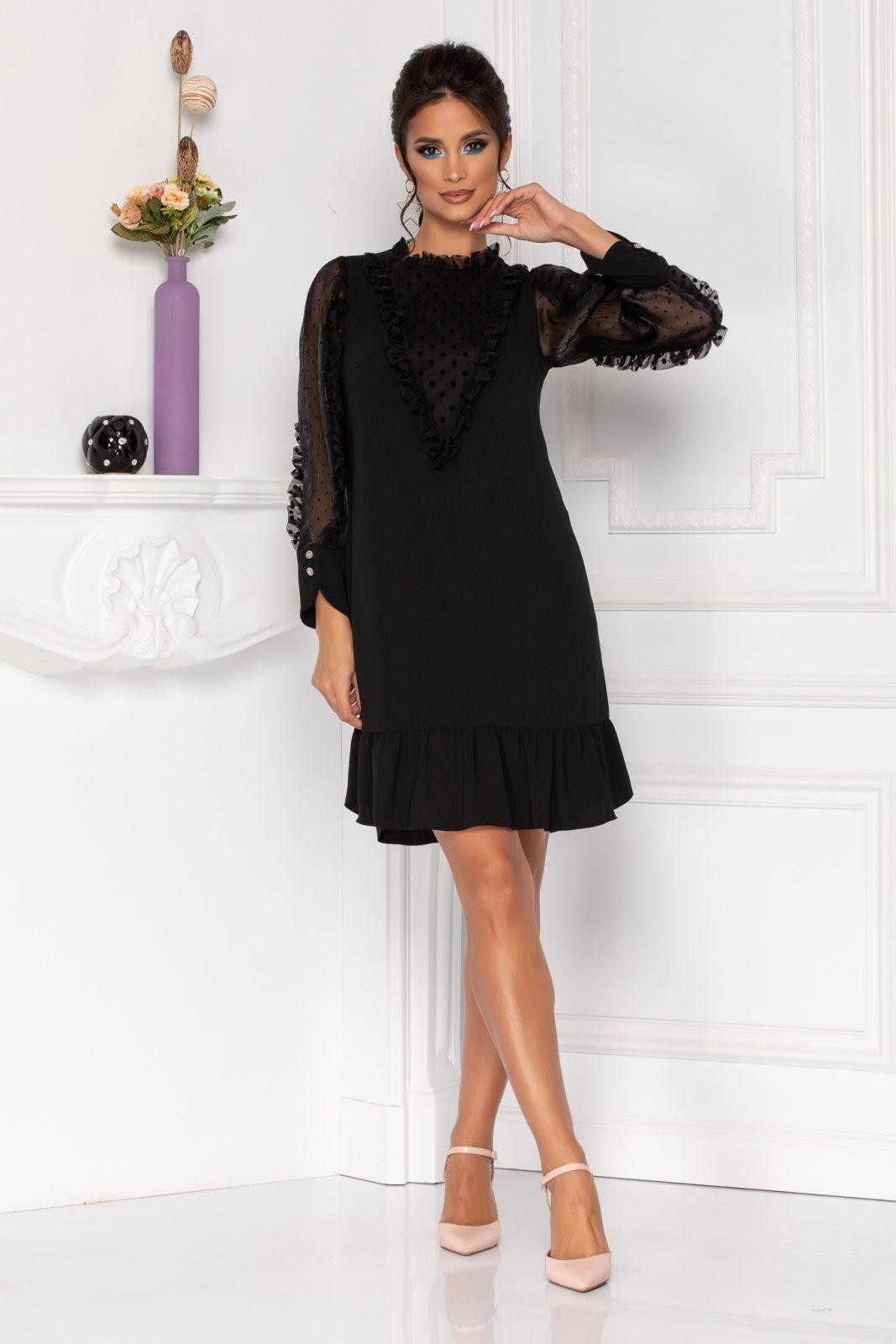 Moze Lineea Black Dress