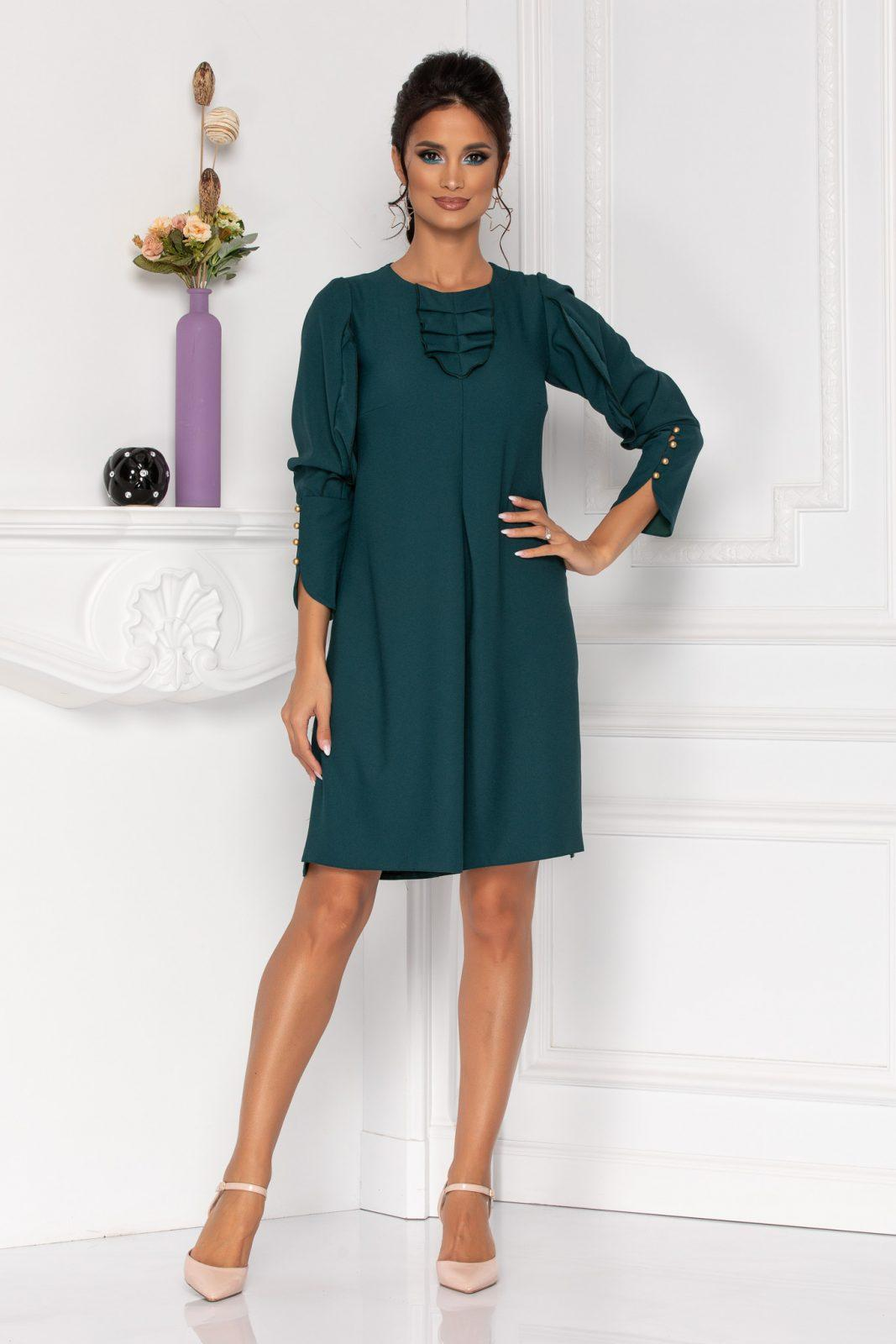 Moze Flavia Green Dress