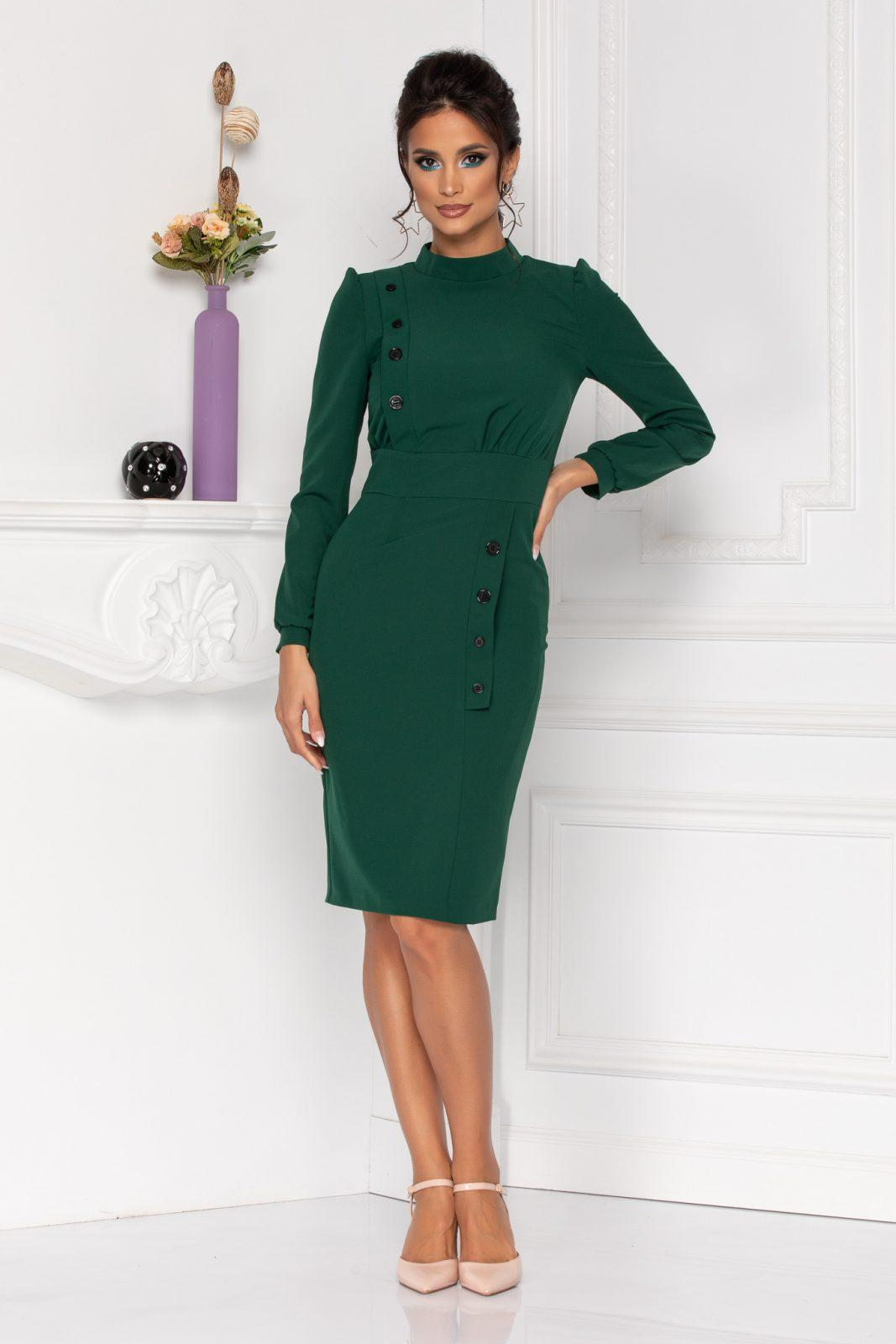 Moze Geneve Green Dress
