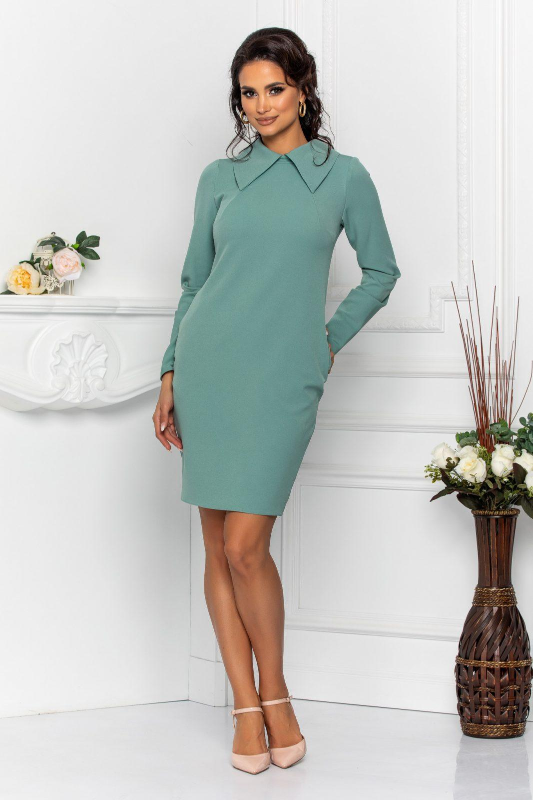 Moze Andira Light Green Dress