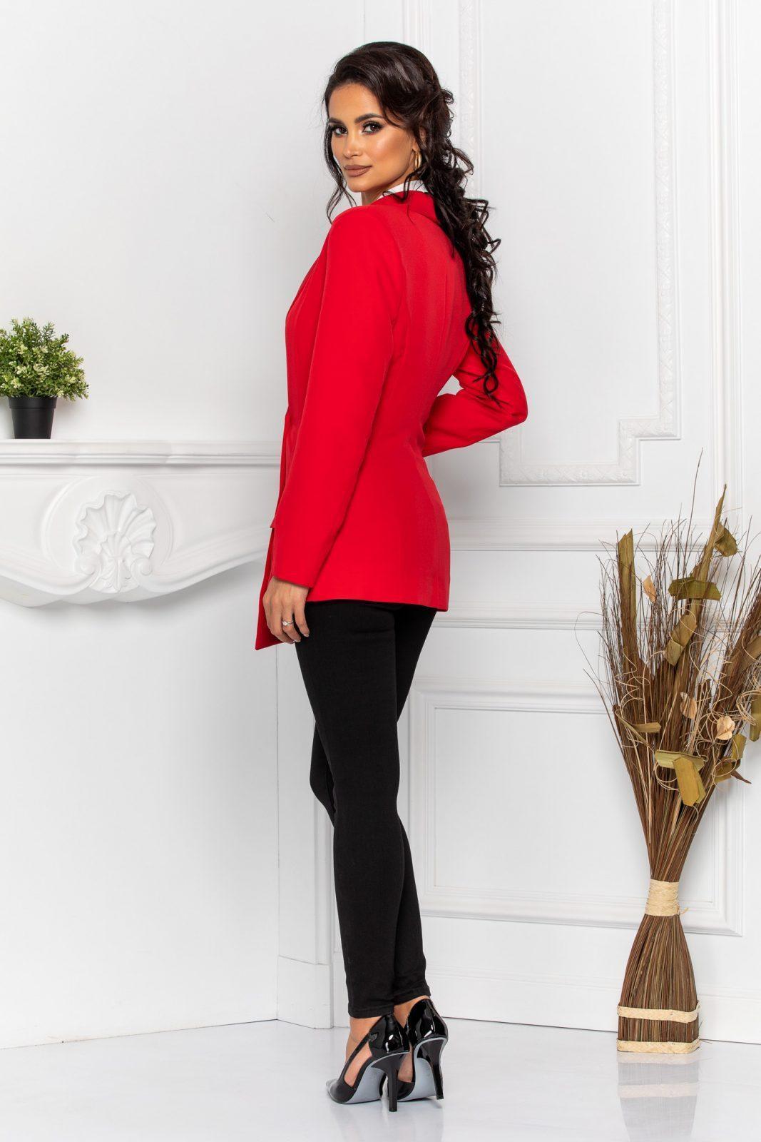 Κόκκινο Σακάκι Tavy 8542 3