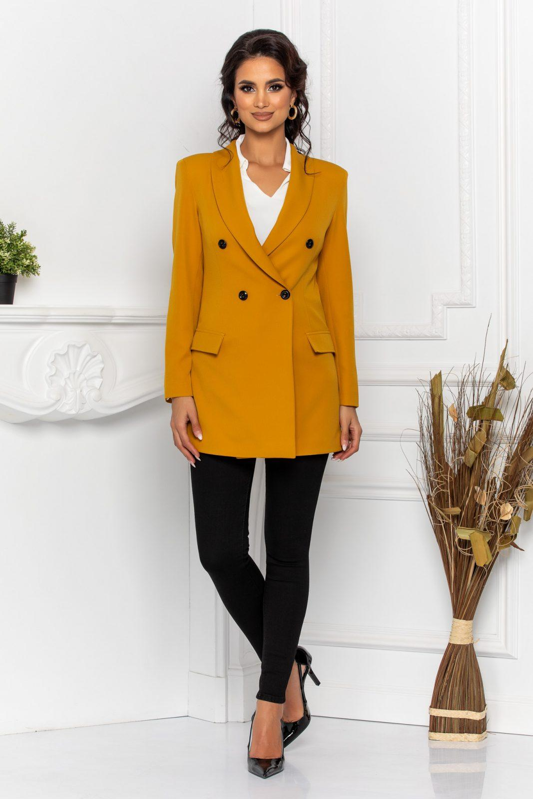Blake Dark Yellow Jacket