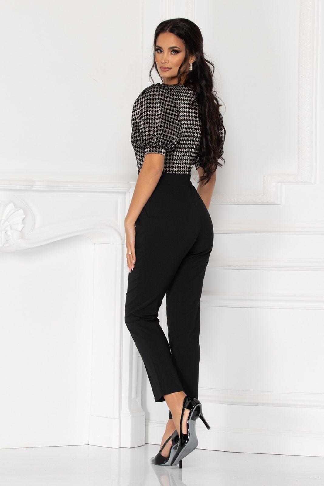 Μαύρη Ολόσωμη Φόρμα Selena 7152