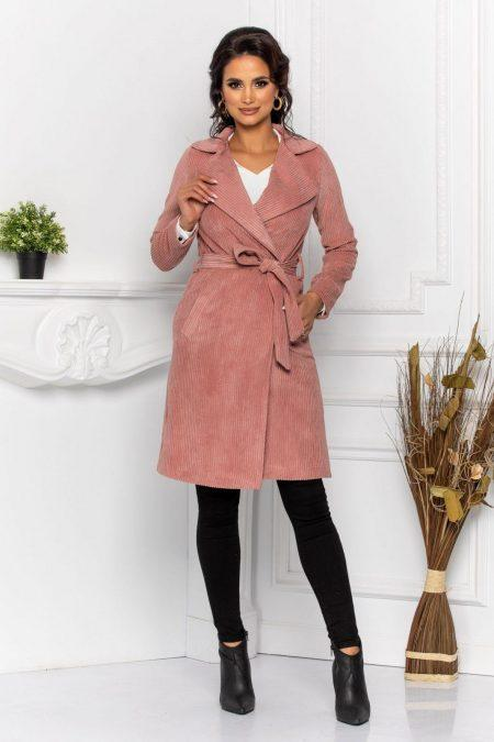 Dash Rose Trench Coat