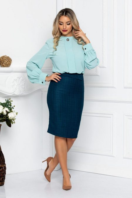 Poli Mint Blouse