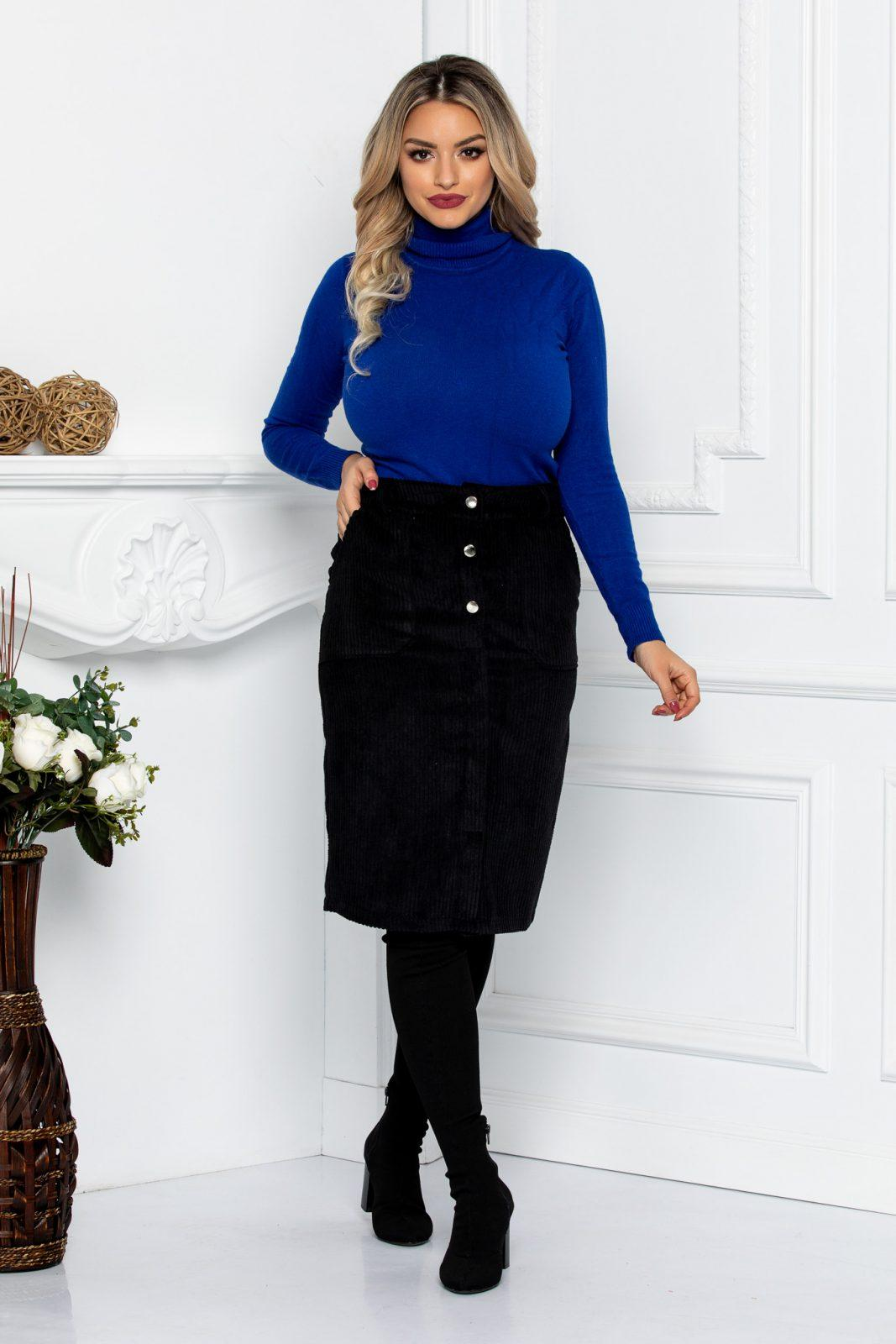 Moni Black Skirt