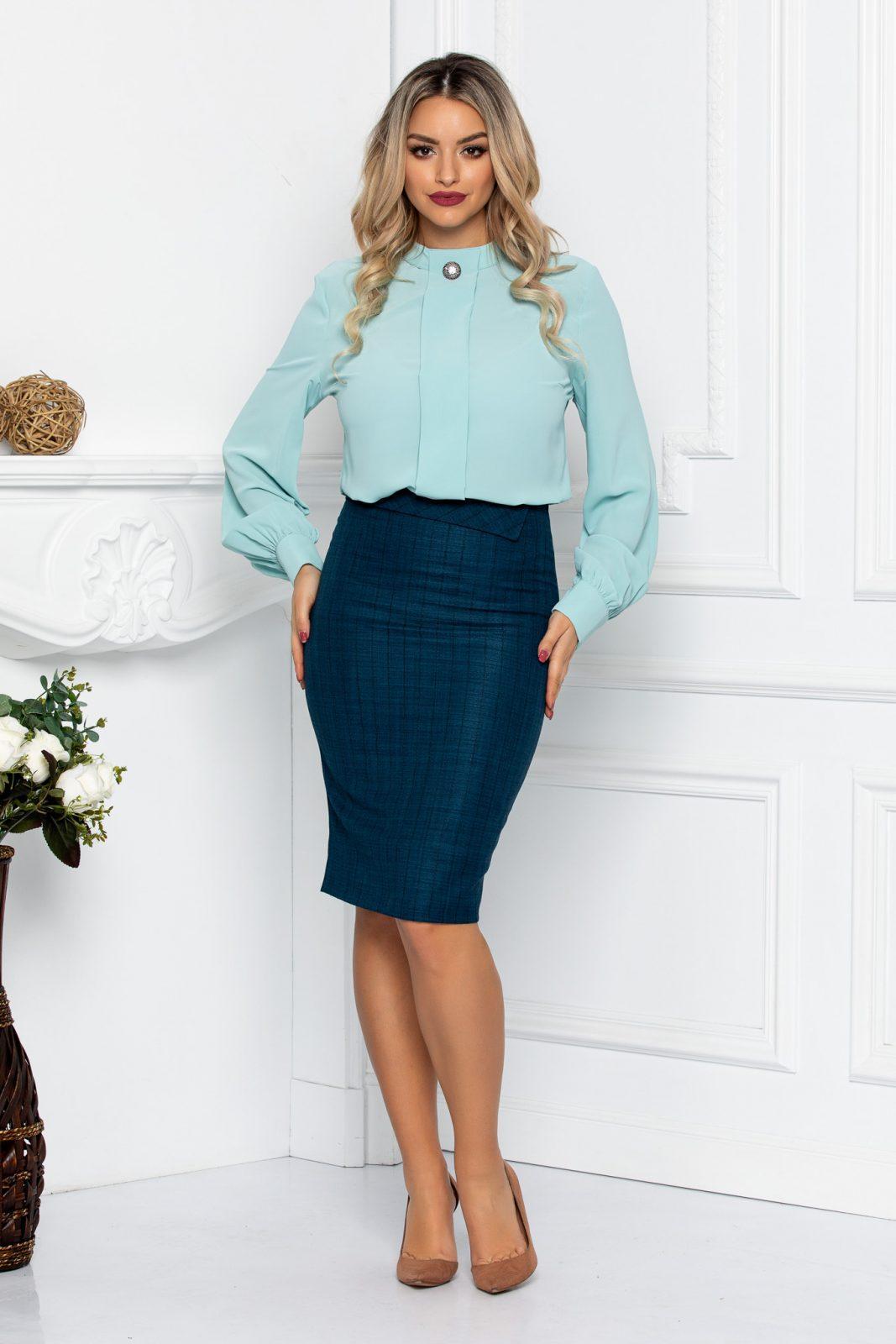 Krina Turquoise Skirt