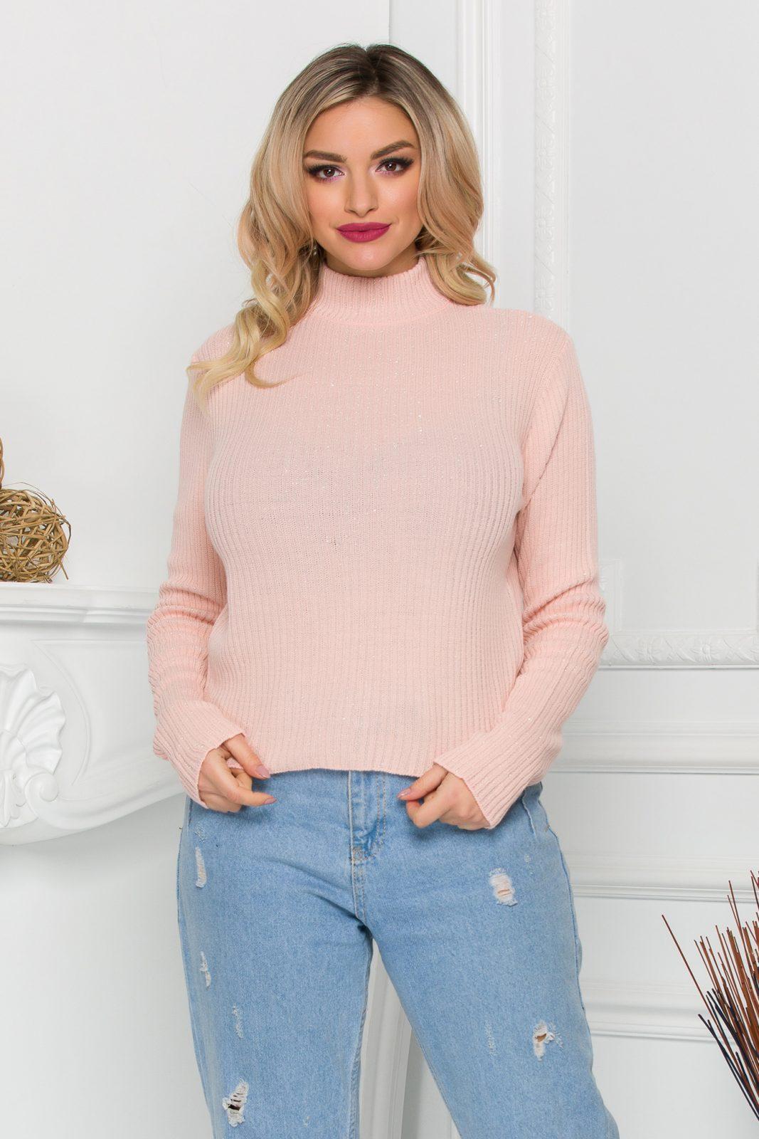 Ezra Peach Sweater