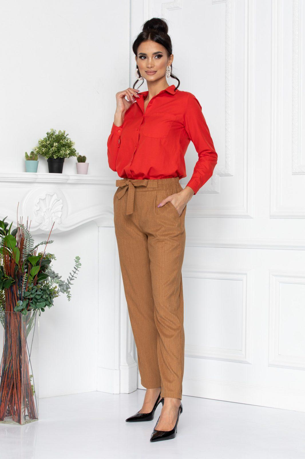 Ginger Brown Trousers